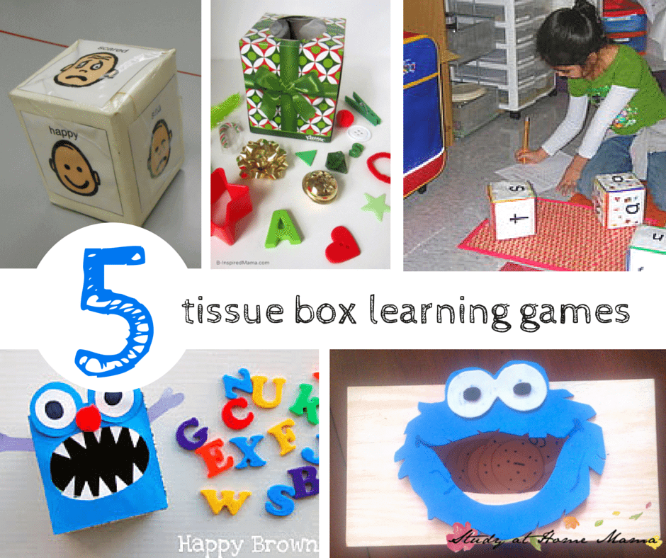 5 Tissue Box Learning Games