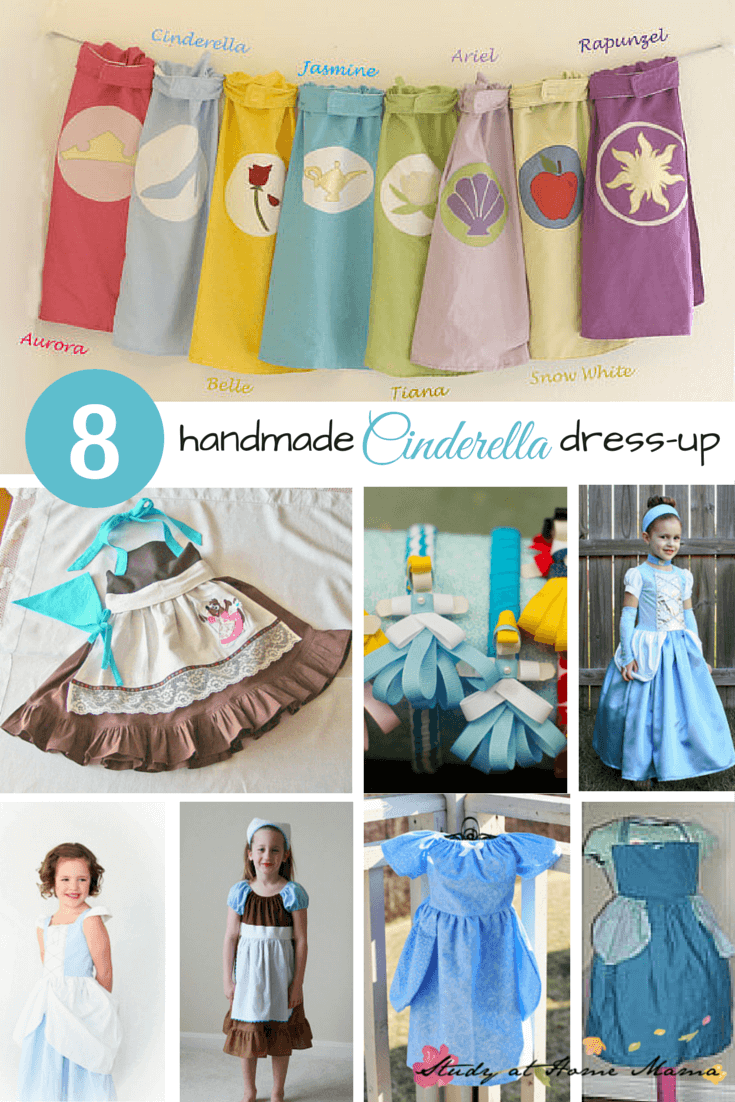 8 Handmade Cinderella Dress-up Options