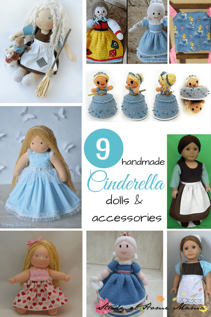 9 Handmade Cinderella Dolls & Accessories