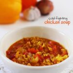 Cold-fighting Homemade Chicken Soup