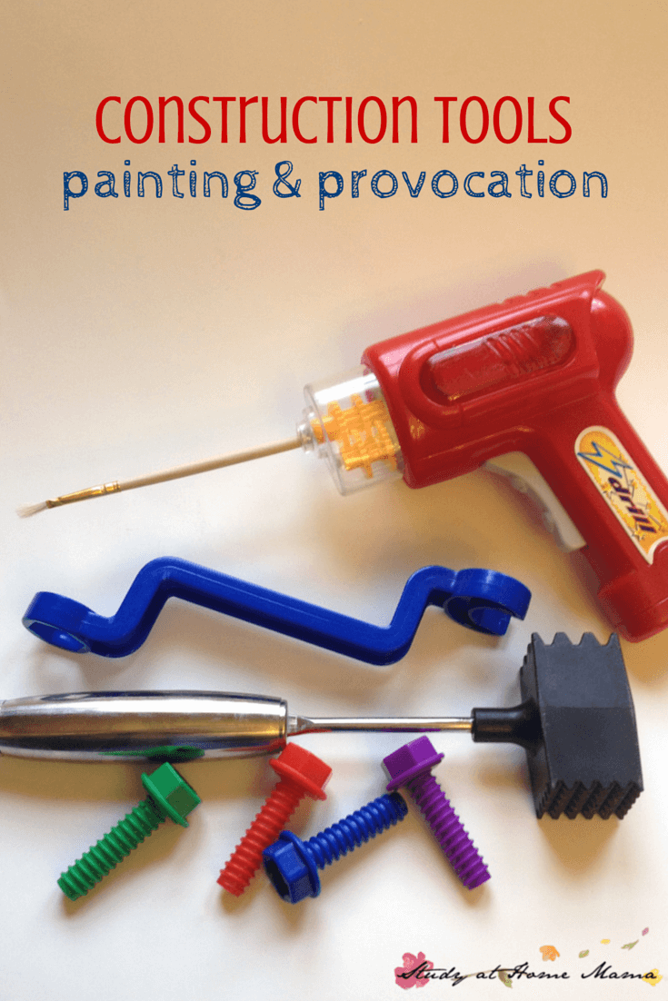 PAINTING WITH CONSTRUCTION TOOLS