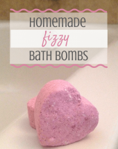 DIY Fizzy Bath Bombs