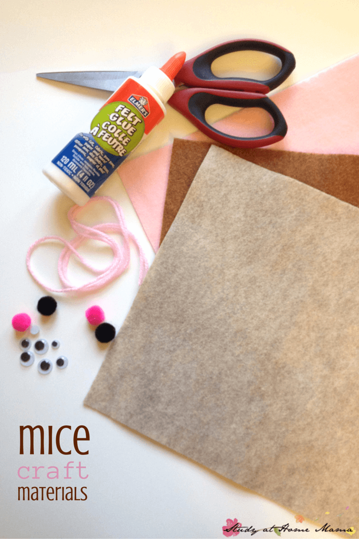 Mice Craft Materials -