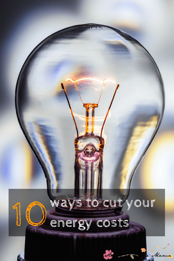 10 EASY ways to cut your energy costs