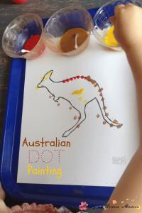 Australian Dot Painting