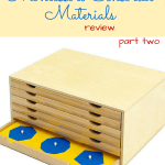 Montessori Materials Review: Sensorial Part Two