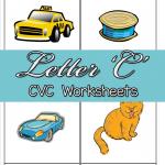 CVC Worksheets: C CVC Words