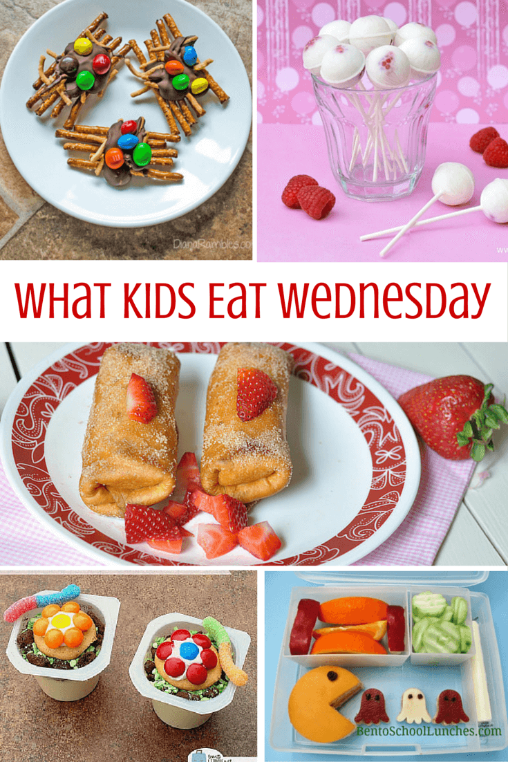 What Kids Eat Wednesday - a great family foodie resource