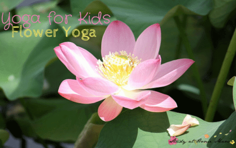 Yoga for Kids: Flower Yoga