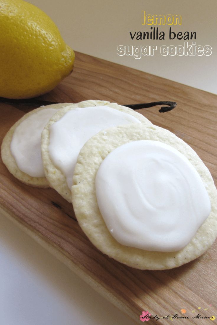 Kids Kitchen: Lemon Vanilla Bean Sugar Cookie Recipe