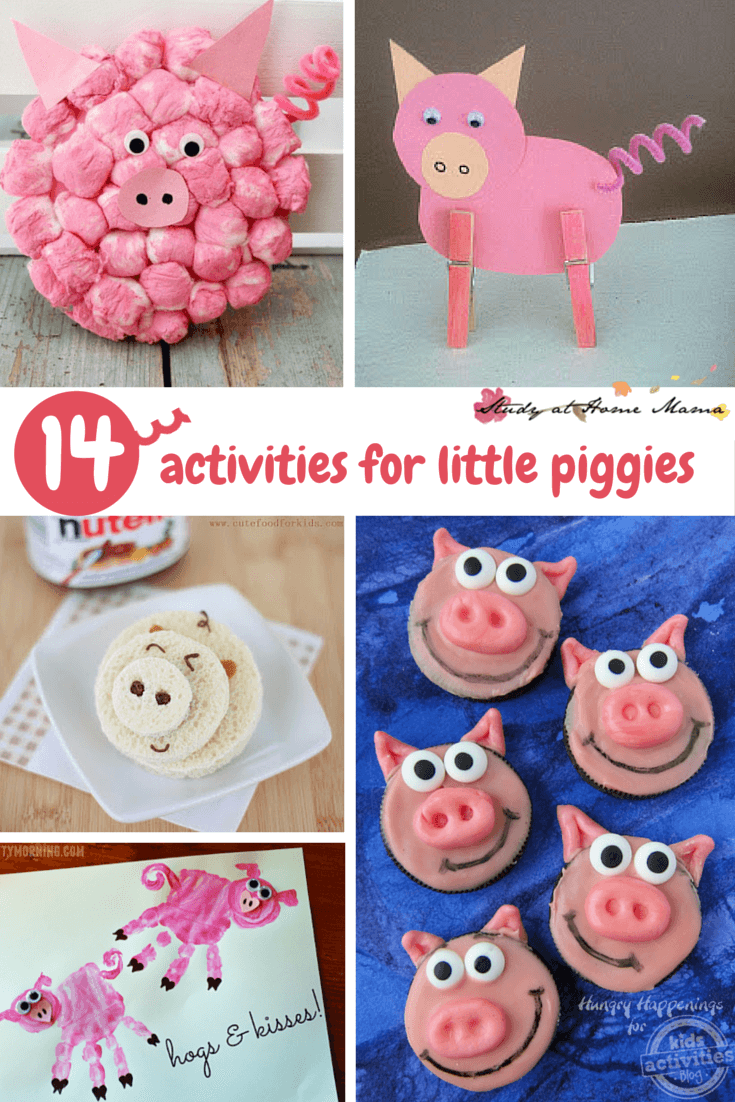 14 Activities for Little Piggies