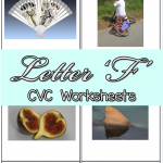 CVC Worksheets: F CVC Words