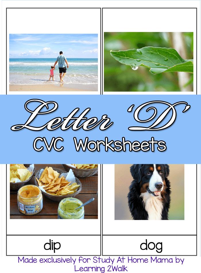 CVC Worksheets H CVC Words Sugar Spice and Glitter – Cvc Worksheets Free