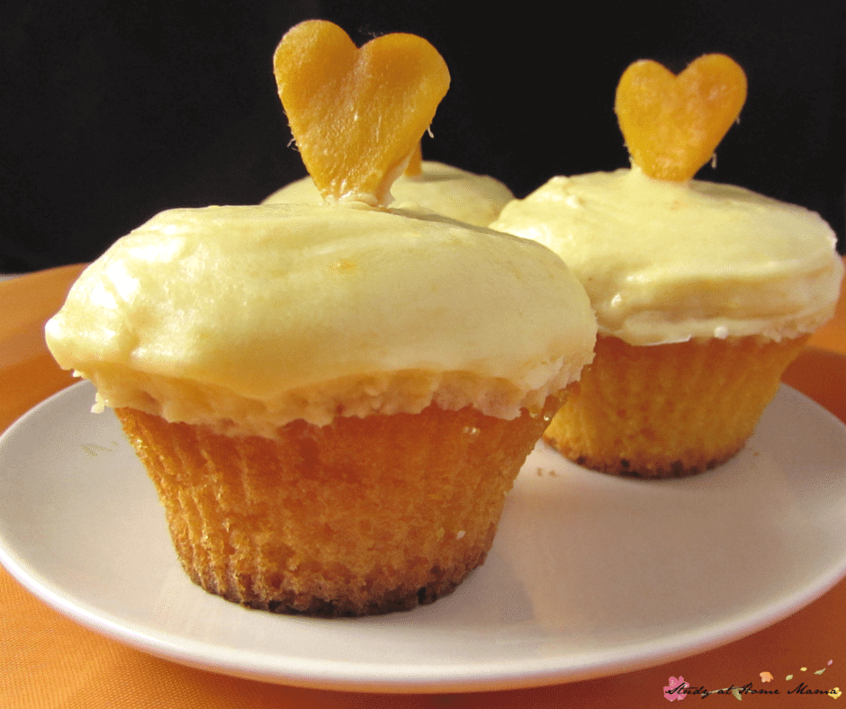 Fresh mango cupcakes and mango buttercream for the perfect summer dessert