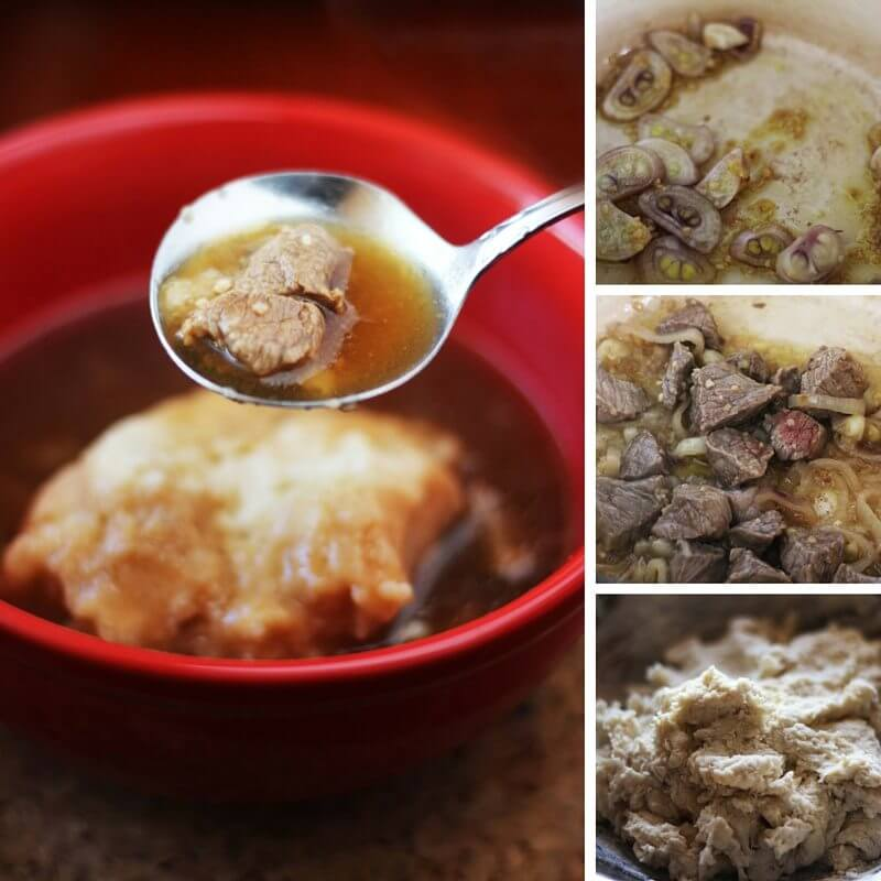 Beef Stew and Dumplings - Easy Healthy Recipe for those nights when you need a quick supper idea!