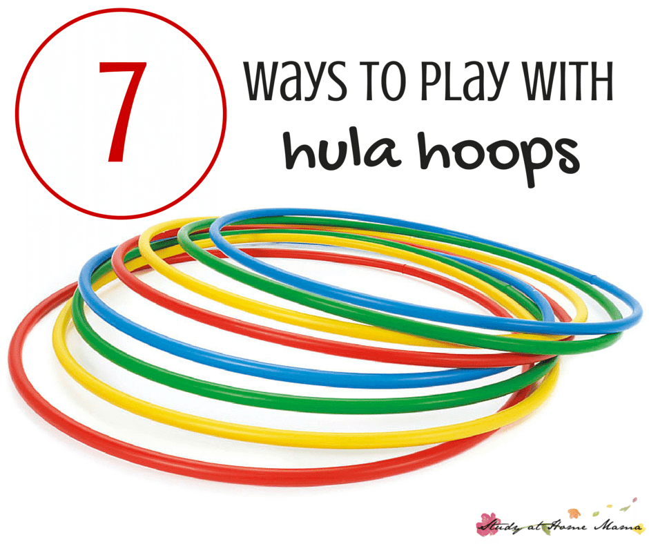 7 Ways to play with Hula Hoops