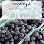 Creating a Healthy Eating Philosophy
