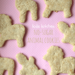 Kids Kitchen: No-Sugar Animal Cookies