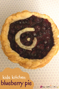 Kids Kitchen: Sugar-Free Blueberry Pie