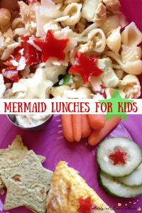 Mermaid Lunches for Kids