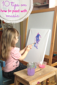 10 Tips on How to Paint with Music