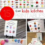 Kids Kitchen Printables