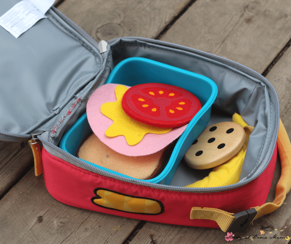 Fun Ways to Teach Kids To Pack Their Lunches - get kids ready for back to school (or first-time school) with these simple and fun ideas for teaching kids how to pack their lunches!