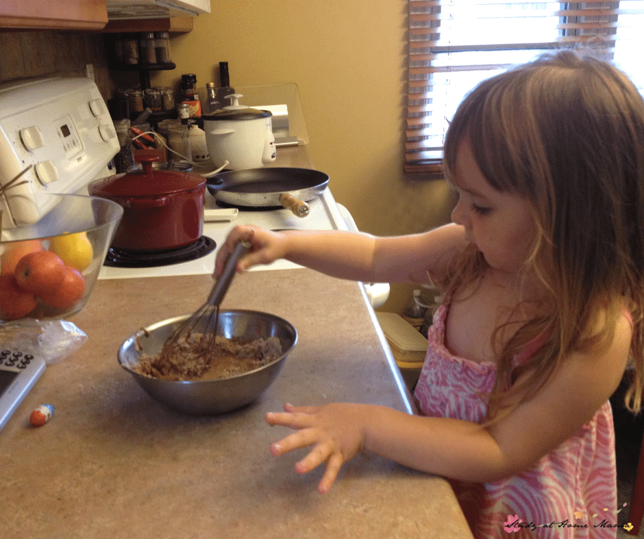 Developing kitchen confidence is a great gift you can give your children - kids kitchen skills translate to other areas of their life, including math and writing