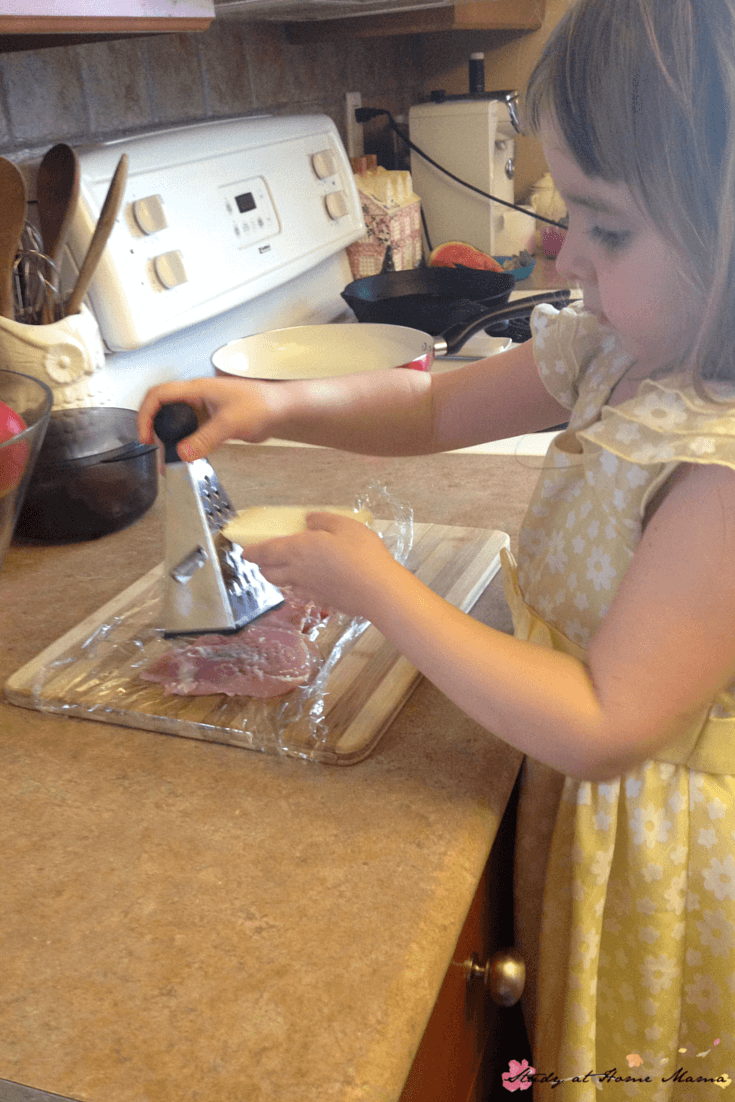 Kids Kitchen: This easy healthy recipe for prosciutto and parmesan chicken has several easy steps that kids can do independently