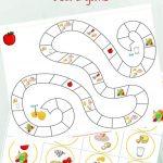 Kids Kitchen: Healthy Eating Game Printable