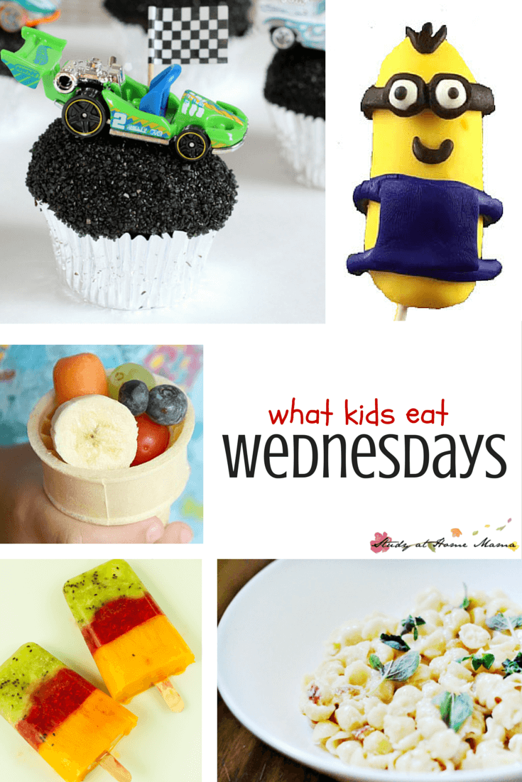 What Kids Eat Wednesdays - a weekly collection of great kids snacks, easy healthy meals for your family, and ideas to make your weekly grocery shopping easier!