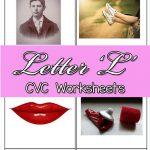 CVC Worksheets: L CVC Words