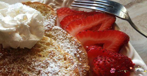 Easy Healthy Recipe for Vanilla Bean French Toast - Make the best french toast recipe you've ever tasted - at home!