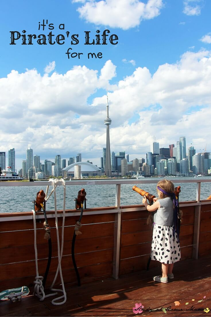 Toronto for Kids: It's a Pirate's Life for me - a wonderful children's adventure on the Toronto Harbourfront. A must-do if you are visiting Toronto with children