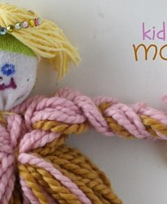 Kid-Made Mop Doll