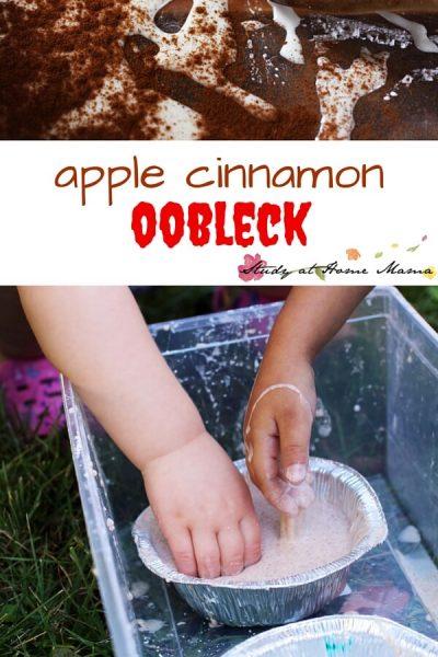Apple Cinnamon Oobleck