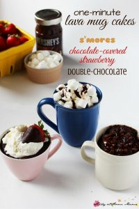 One Minute Lava Mug Cakes