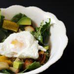 Sunshine Bowl: Quinoa, Egg, & Spinach Salad
