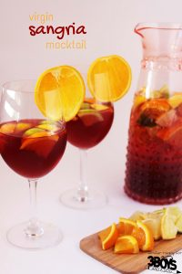 Virgin Sangria Mocktail
