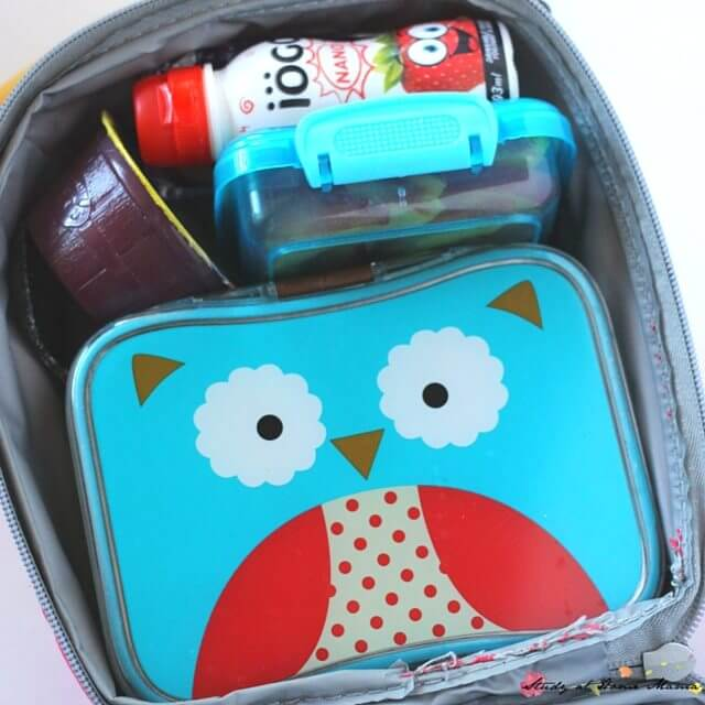 Skip Hop Zoo Owl Lunch Box and Bento Box - the perfect way to tote your owl lunch box idea