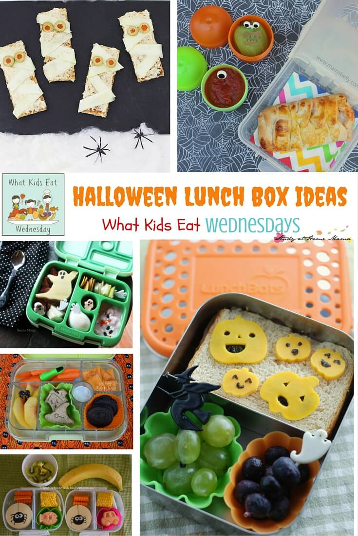 What Kids Eat #25: Halloween Lunch Box Ideas and Snacks for Kids
