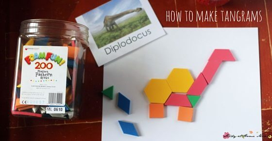 how to make tangrams