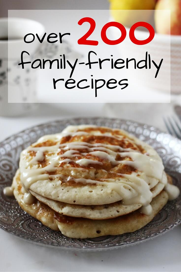 Over 200 Family-friendly recipes, from easy healthy breakfast recipes, to lunch box ideas, and delicious supper recipes the whole family will love