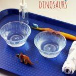 Dinosaur Scrubbing