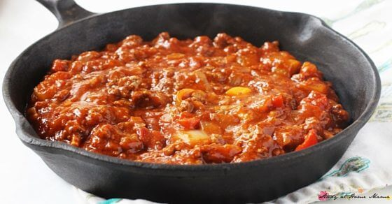 A delicious and healthy take on a spaghetti meat sauce, this version has tons of authentic Italian flavor and veggies, making it a complete meal on it's own