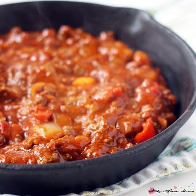 Homemade Bolognese is a healthy, hearty meal that everyone in the family will love