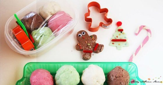 How to make a homemade play dough kit