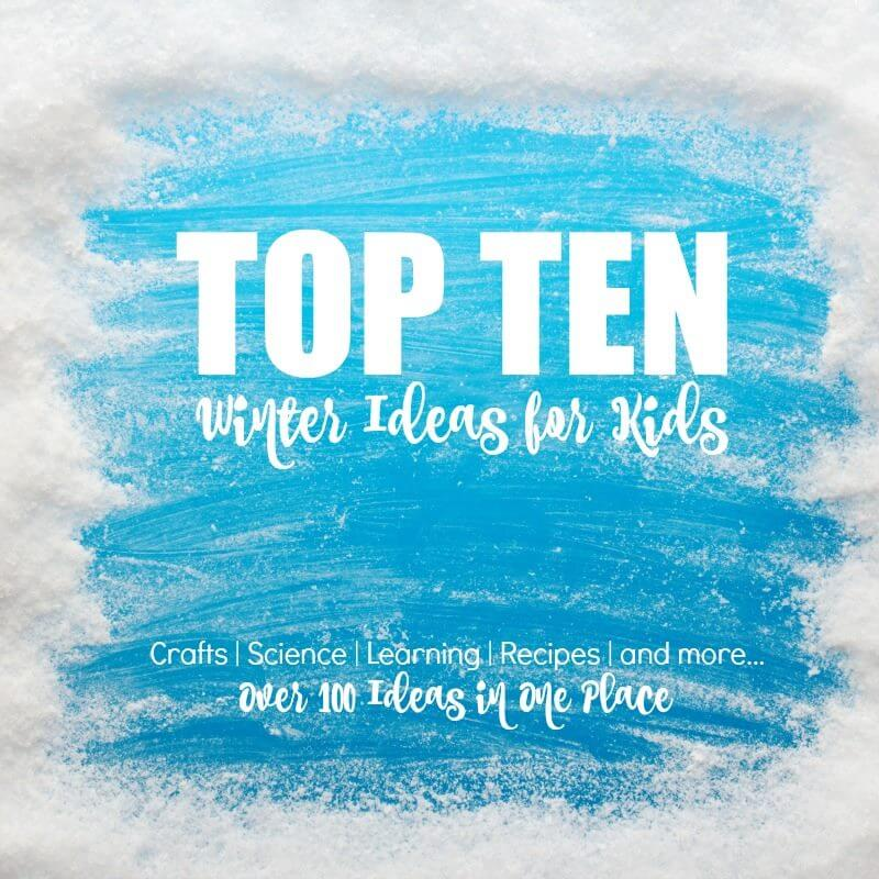 A monthly series where we share the top ten ideas in a chosen theme - this month, it's Winter! Each blog is picking a different theme and sharing the top ten winter ideas in that theme (we chose winter sensory bins)