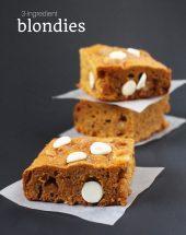 Kids' Kitchen: 3-Ingredient Blondies