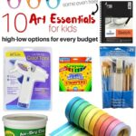10 High-Low Art Essentials for Little Artists